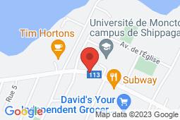 Map of 217 Boulevard J. D. Gauthier, Shippagan, New Brunswick - Clinique sans rendez-vous Shippagan - Clinique sans rendez-vous Shippagan