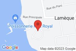 Map of 29 Rue de l'Hôpital, Lamèque, New Brunswick - Lamèque Hospital and Community Health Centre - Vitalité Health Network