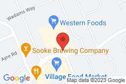 Map of 6660 Sooke Road, Sooke, British Columbia - West Coast Family Medical Clinic - West Coast Family Medical Clinic