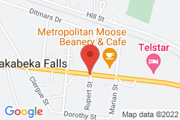 Map of 4781 HWY 11/17, Kakabeka Falls, Ontario - Good Doctors Medical Clinics Kakabeka Falls - Good Doctors Medical Clinics