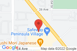 Map of 410-15355 24th Avenue, Surrey, British Columbia - Highroads Medical Clinics South Surrey - Highroads Medical Clinics