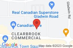 Map of 2752 Allwood Street, Abbotsford, British Columbia - Allwood Medical Centre - Allwood Medical Centre
