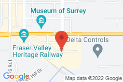 Map of 21183 88th Avenue, Langley, British Columbia - Grove Medical Centre Inc - Grove Medical Centre Inc