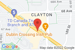 Map of 204-18730 Fraser Highway, Surrey, British Columbia - Clayton Heights Medical Clinic - Clayton Heights Medical Clinic