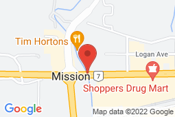 Map of 32471 Lougheed Highway, Mission, British Columbia - Mission Hills Medical Clinic - Mission Hills Medical Clinic