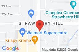 Map of 7154 120 Street, Surrey, British Columbia - CarePlace Medical Centre 120 St - CarePlace Medical Centre