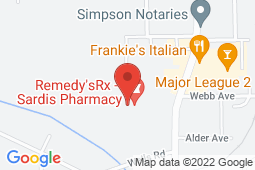 Map of 7201 Vedder Road, Building #7, Chilliwack, British Columbia - Stolo Wellness Centre - Chilliwack Youth Health Centre