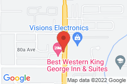 Map of 105-8056 King George Boulevard, Surrey, British Columbia - King George Medical Clinic - King George Medical Clinic