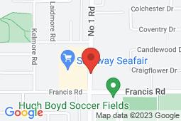 Map of 8671 No. 1 Road, Richmond, British Columbia - Seafair Medical Centre - Seafair Medical Centre