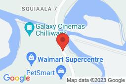 Map of 6345 120 Street, Chilliwack, British Columbia - Viva Care Eagle Landing Parkway - Viva Care