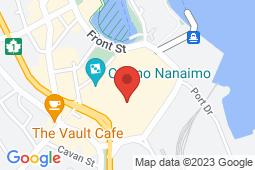 Map of 650 Terminal Avenue, Nanaimo, British Columbia - Medical Arts Centre - Medical Arts Centre