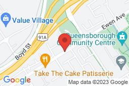 Map of 1024 Ewen Avenue, New Westminster, British Columbia - Viva Care Ewen Avenue - Viva Care