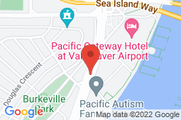 Map of 3211 Grant McConachie Way, Richmond, British Columbia - Vancouver Airport Medical Clinic - Vancouver Airport Medical Clinic