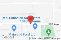 Map of 14650 104th Avenue, Surrey, British Columbia - Guildford Medical Clinic Surrey - Guildford Medical Clinic