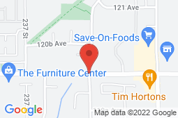 Map of 12005 238B Street, Maple Ridge, British Columbia - Cottonwood Medical Clinic - Cottonwood Medical Clinic