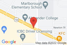 Map of 4879 Kingsway, Vancouver, British Columbia - Metrohealth Clinic - Metrohealth Clinic