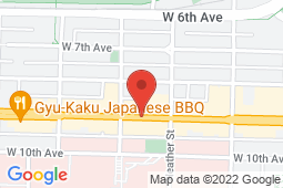 Map of 777 Broadway W, Vancouver, British Columbia - The Doctor's Office - The Doctor's Office
