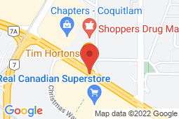 Map of 3000 Lougheed Highway, Coquitlam, British Columbia - Sunwood Medical Clinic - Sunwood Medical Clinic