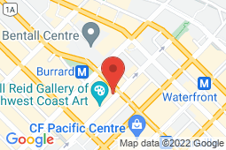 Map of 887 Dunsmuir St, Vancouver, British Columbia - Stein Medical Clinic Dunsmuir Street - Stein Medical Clinic