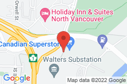 Map of 333 Seymour Boulevard, North Vancouver, British Columbia - Mount Seymour Medical Clinic - Mount Seymour Medical Clinic
