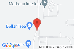 Map of 1100 Sunshine Coast Highway, Gibsons, British Columbia - Gibsons Medical Associates - Gibsons Medical Associates
