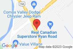 Map of 757 Ryan Road, Courtenay, British Columbia - Washington Park Medical Clinic - Washington Park Medical Clinic