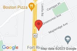 Map of 2750-B Pembina Highway, Winnipeg, Manitoba - Greencrest Pembina Clinic - Greencrest Pembina Clinic