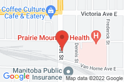 Map of 620 Dennis Street, Brandon, Manitoba - Brandon Clinic - Brandon Clinic