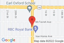 Map of 624B – 18th Street, Brandon, Manitoba - Newmount Medical Clinic - Newmount Medical Clinic