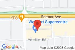 Map of 35 Lakewood Blvd, Winnipeg, Manitoba - Sunshine Medical Clinic Lakewood - Sunshine Medical Clinics