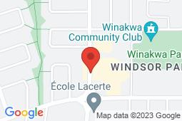 Map of 1075A Autumnwood Drive, Winnipeg, Manitoba - Health Plus Medical Centre - Health Plus Medical Centre