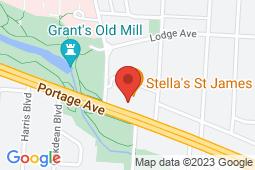 Map of 15 - 2727 Portage Avenue, Winnipeg, Manitoba - St.George Medical Centre - St.George Medical Centre