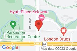 Map of 1940 Harvey Avenue, Kelowna, British Columbia - Spall Medical Centre - Spall Medical Centre