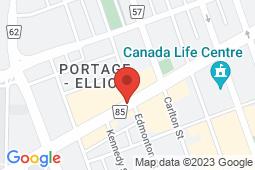 Map of 384 Portage Avenue, Winnipeg, Manitoba - Boyd Medical Clinic - Boyd Medical Clinic