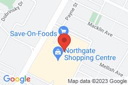 Map of 45-1399 McPhillips Street, Winnipeg, Manitoba - Northgate Medical Clinic - Northgate Medical Clinic