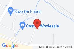 Map of #120 and #130 158 Southbank Street, Okotoks, Alberta - Okotoks Southbank - Pinnacle Medical Centers