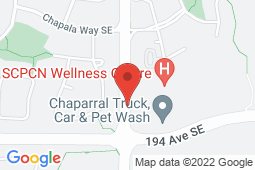 Map of Suite 2110  1800 – 194th Ave SE, Calgary, Alberta - Wellpoint Health Alberta Chaparral - Wellpoint Health Alberta
