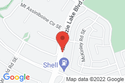 Map of 16642 McKenzie Lake Boulevard SE, Calgary, Alberta - Health Watch Medical Clinic - Health Watch Medical Clinic