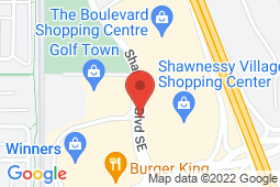 Map of 138-70 Shawville Blvd SE, Calgary, Alberta - Shawnessy Medical Clinic - Shawnessy Medical clinic