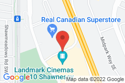 Map of 100-15915 Macleod Trail SE,, Calgary, Alberta - South Macleod Family Medical - Primacy Medical Clinics