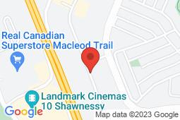 Map of 290 Midpark Way SE, Calgary, Alberta - Midpark Family Medical Centre - Med-Stop Medical Clinics