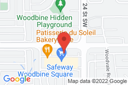 Map of 202A- 2525 Woodview Drive S.W., Calgary, Alberta - Woodbine Medical Centre - Woodbine Medical Centre