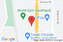 Map of 233-10601 Southport Rd, Calgary, Alberta - Willow Park Medical Clinic - Woodbine Medical Centre