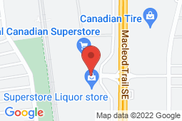 Map of 10505 Southport Rd SW, Calgary, Alberta - South Calgary Family Practice And Walk In Clinic - Primacy Medical Clinics