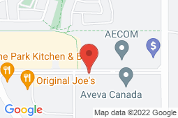 Map of Suite 120, 109 Quarry Park Blvd. SE, Calgary, Alberta - Primecare Health Quarry Park - Prime Care Health
