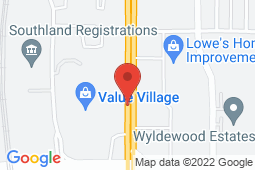 Map of Suite 210, 9737 Macleod Trail SW, Calgary, Alberta - Mountain View Medical Centres Macleod Trail - Mountain View Medical Centres