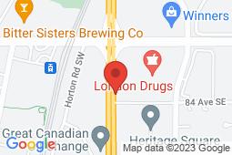 Map of 8E1-8330 Macleod Tr. SE, Calgary, Alberta - Heritage Family Medical Centre - Med-Stop Medical Clinics