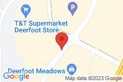 Map of 7979 - 11 Street SE, Calgary, Alberta - Deerfoot Meadows Medical Clinic - Deerfoot Meadows Medical Clinic