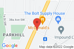 Map of 3916 Macleod Trail SE, Calgary, Alberta - Excel Health Family Practice And Walk-In Clinic - Excel Health Family Practice And Walk-In Clinic