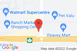 Map of 120 Edgefield Place, Strathmore, Alberta - Strathmore - Pinnacle Medical Centers